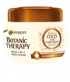 Garnier Botanic Therapy Coconut Milk Hair Mask 3-in-1 (300mL)
