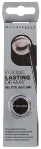 Maybelline New York Eye Studio Lasting Drama Gel Eyeliner (3g) Black