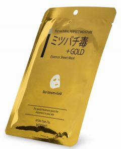 Mitomo Bee Venom & Gold Essence Mask (25g)