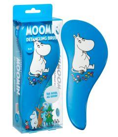 Moomin Detangling Brush Blue