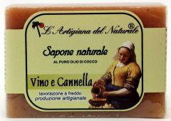 Laboratorio Naturale Wine Cinnamon Soap (100g)