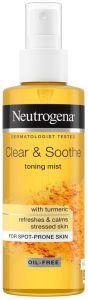 Neutrogena Clear & Soothe Toning Mist (125mL)