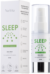 Norvita Hemp Oil & Melatonin Sleep Oral Spray (30mL)