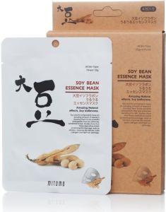 Mitomo Soy Bean Essence Mask Box (6pcs)