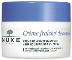 Nuxe Creme Fraiche 48HR Moisturizing Rich Cream (50mL)