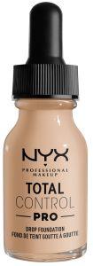NYX Professional Makeup Total Control Pro Drop Foundation (60g) Alabaster