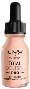 NYX Professional Makeup Total Control Pro Drop Foundation (60g) Light Porcelain