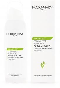 Podopharm Podoflex Creamy Foot Foam with Active Spirulina (125mL)