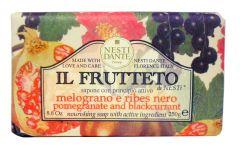 Nesti Dante Soap Il Frutetto Pomegranate & Blackcurrant (250g)