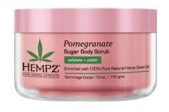 Hempz Pomegranate Herbal Sugar Body Scrub (215mL)