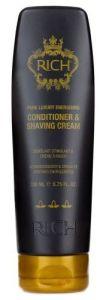 RICH Pure Luxury Energising Cond. & Shaving Cream (200mL)