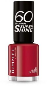 Rimmel London 60 Seconds Super Shine Nail Polish (8mL)