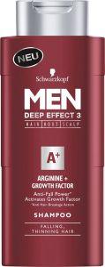 Schwarzkopf Men Shampoo Arginine + Growth Activator (250mL)