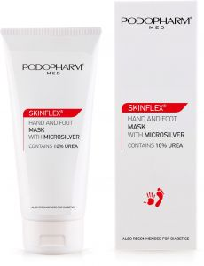 Podopharm Skinflex Hand and Foot Mask with Microsilver (75mL)