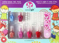 Suncoat Manicure Kit For Kids (6x2mL)