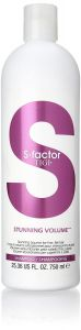 Tigi S-Factor Stunning Volume Shampoo (750mL)