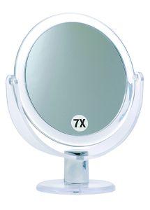 Casuelle Deluxe Standing Mirror, Normal+7X Magnifying, Ø17,5x24cm
