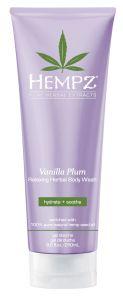Hempz Vanilla Plum Relaxing Herbal Body Wash (250mL)