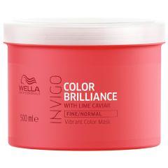 Wella Professionals Invigo Color Brilliance Vibrant Color Mask (500mL) Fine/Normal Hair