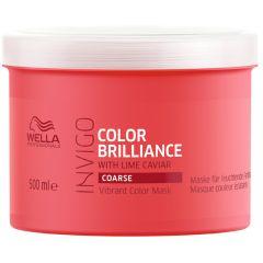 Wella Professionals Invigo Color Brilliance Vibrant Color Mask (500mL) Coarse Hair