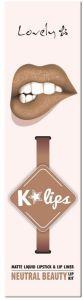 Lovely K-lips Matte Lip Kit (3g) 4