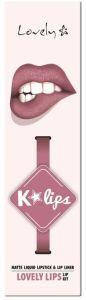 Lovely K-lips Matte Lip Kit (3g) 5