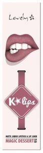 Lovely K-lips Matte Lip Kit (3g) 7 Magic Dessert