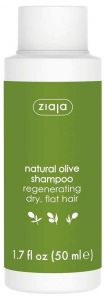 Ziaja Olive Oil Regenerating Shampoo Dry Flat Hair Travel Size (50mL)